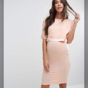 ASOS maternity/nursing dress NWT